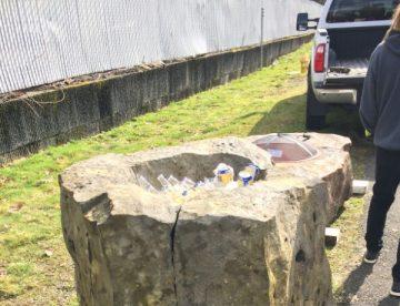 concrete cooler
