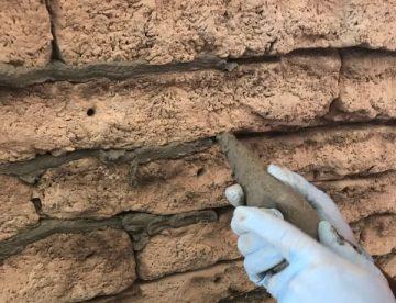 concrete stone wall